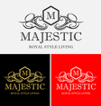 Majestic Logo vector image