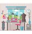 House female hobbies vector image