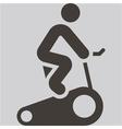 indoor cycling icon vector image
