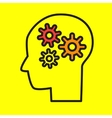 brainstorming Flat style vector image