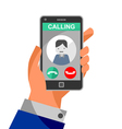 Calling on the phon vector image