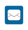 mail app button vector image