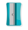 Colorful pencil sharpener graphic vector image