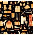Pattern of items for repair vector image