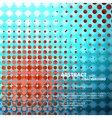 Halftone background for concept design vector image vector image