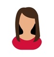 Avatar woman icon People design graphic vector image