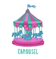 Child Carousel vector image