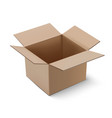 carton package box vector image