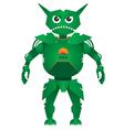 combat robot vector image