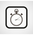 Stopwatch Icon Flat Simple vector image