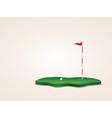 Golf Field vector image vector image