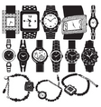 fashion watch vector image