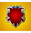 emblem shield vector image