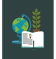 education related icons image vector image