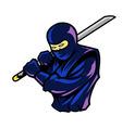 Steady Ninja vector image