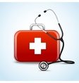First aid healthcare concept vector image vector image