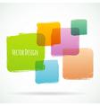 Color design vector image vector image