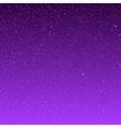 background snowflakes Purple ice storm vector image