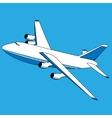 cargo plane vector image