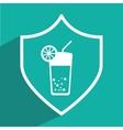 juice icon design vector image