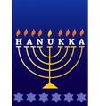 holiday hanukkah vector image vector image