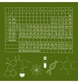 Chemistry Doodle Set vector image