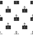 Carrot icon in black style isolated on white vector image