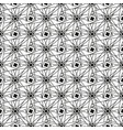 geometric seamless pattern in black and white vector image