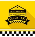 Taxi badge with shadow - 05 vector image
