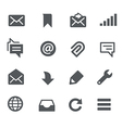 Messages Icons - Apps Interface vector image