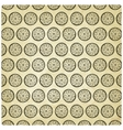 Seamless pattern with lemons vector image
