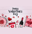 valentines day card - 2018 4 vector image