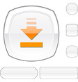 Download white button vector image