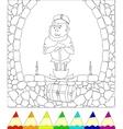 gnome vector image