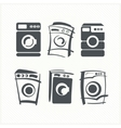 Washing machines vector image