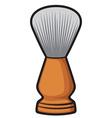 Shaving brush vector image vector image