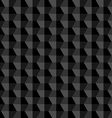 Black Geometric Abstract Background vector image vector image