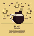 coffee drink infographic vector image