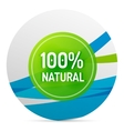 Green eco concept - natural vector image