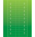 American Football Field Background vector image