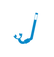 Diving Snorkel Icon vector image