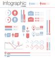 infographics gender design elements vector image