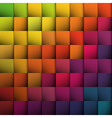 abstract colorful squares background vector image vector image