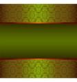 floral damask background vector image