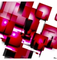 Abstract lines and squares vector image