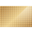 Bronze Tiled Background vector image vector image