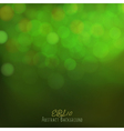 Abstract bokeh background festive lights vector image