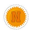 novacoin money golden commerce vector image
