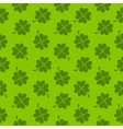 Abstract Natural Clover Seamless Pattern vector image vector image