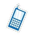 cellphone mobile smart communication vector image